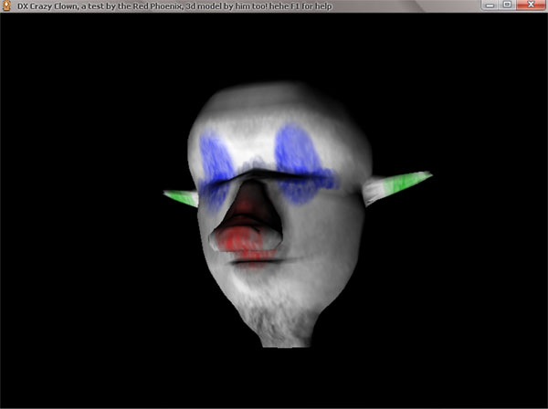CrazyClown DirectX Toy